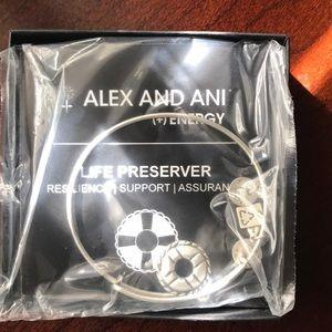 Alex & Ani Life Life Preserver Bangle